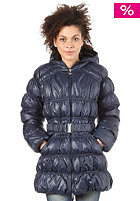 ADIDAS Womens Long Down Jacket dark navy