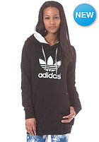 ADIDAS Womens Long Hooded Sweat black