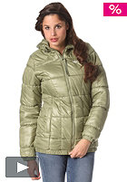 ADIDAS Womens Long Padded Jacket shift olive