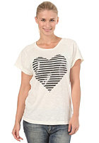 ADIDAS Womens Love Sequin S/S T-Shirt running white