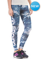 ADIDAS Womens Night Logo Leggings multicolor