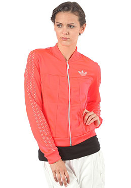 ADIDAS Womens Night Tracktop Jacket pop/matte silver