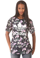 ADIDAS Womens Orchid BF S/S T-Shirt multco/black