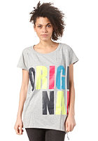 ADIDAS Womens Originals Tee Dress medium grey heather