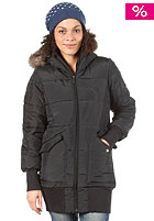 ADIDAS Womens Padde Slim Coat black