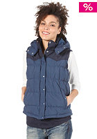 ADIDAS Womens Padded Vest solid blue