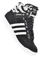 ADIDAS Womens Pro Conference Hi E black 1 / running white ftw / metallic silver
