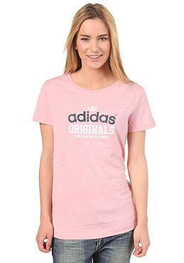 ADIDAS Womens S Coll 2 S/S T-Shirt lgtcormel