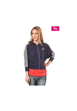 ADIDAS Womens S Crop Hooded Sweat marine