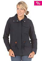 ADIDAS Womens Short Parka Jacket dark navy 