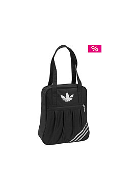ADIDAS Womens Shoulder Bag black/metallic silver