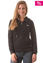 ADIDAS Womens Slim Gra HD Hooded Zip Sweat black