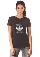 ADIDAS Womens Slim Gra S/S T-Shirt black