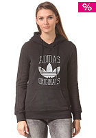ADIDAS Womens Slim Hooded Gra black
