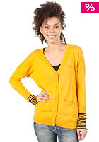 ADIDAS Womens Slim Stripe Cardigan craft gold/black