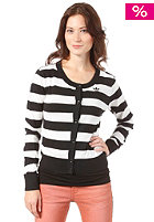 ADIDAS Womens Striped Cardigan running white/black