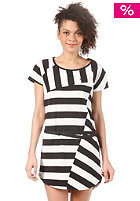 ADIDAS Womens Striped Dress running white/black