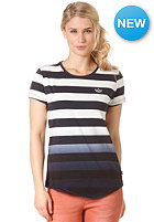 ADIDAS Womens Striped S/S T-Shirt legend ink s10/running white