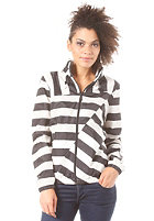 ADIDAS Womens Striped Windbreaker Jacket black/running white
