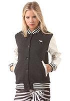 ADIDAS Womens Style Varsity Jacket black/core white