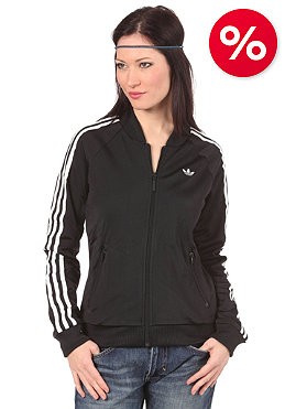 ADIDAS Womens Supergirl Tracktop Jacket black/running white