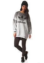 ADIDAS Womens Sweater Dress mgreyh/black