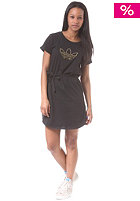 ADIDAS Womens Tee Dress black/metgol