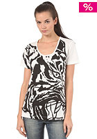 ADIDAS Womens Tiger S/S T-Shirt running white
