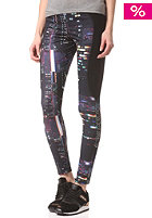 ADIDAS Womens TKO P Leggins multicolor/black