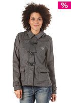 ADIDAS Womens Toggle Coat Jacket dark grey heather