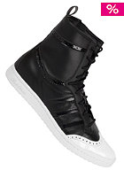ADIDAS Womens Top Ten Hi Sleek black / white / black