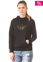 ADIDAS Womens Trefoil Hooded Sweat black
