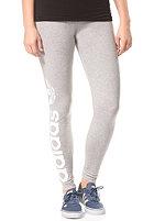 ADIDAS Womens Trefoil Leggings medium grey heather/core white