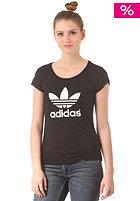 ADIDAS Womens Trefoil Logo S/S T-Shirt black