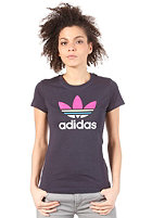 ADIDAS Womens Trefoil S/S T-Shirt legend ink s10