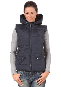 ADIDAS Womens Vest Jacket dark navy