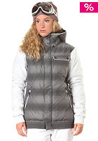 ADIDAS Womens W Dot Haze Puff Snow Jacket black/wht