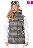 ADIDAS Womens W Dot Haze Puff Snow Jacket black/wht