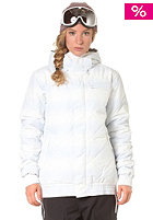 ADIDAS Womens W Dot Haze Puff Snow Jacket wht