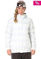 ADIDAS Womens W Dot Haze Puff Snow Jacket wht