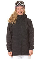 ADIDAS Womens W Slub Stripe Jacket black