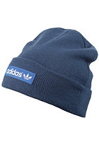 ADIDAS Woven Logo Beanie night marine/bluebird