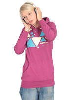 AESTHETIKER Womens Triangle Hooded Sweat very berry
