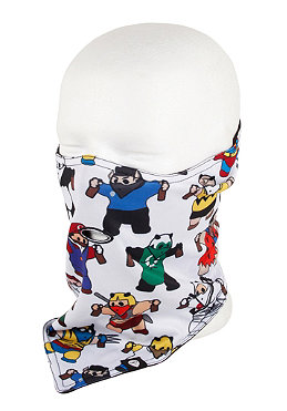 AIRHOLE Standard Party Panda Bandana white