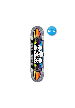 ALIEN WORKSHOP AW Spec Met Flk Mini Complete Skateboard 7.30