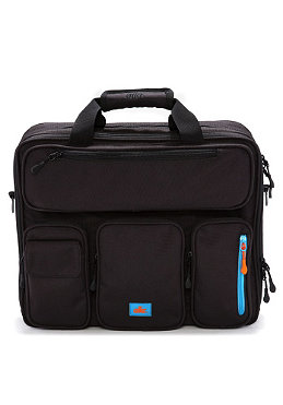ALKR Briefcase Urban Bag black/aurora blue