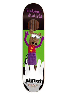 ALMOST Mullen Finger Puppet Impact Deck 7.60