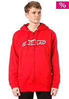 ALPINESTARS Blaze Hooded Zip Sweat red