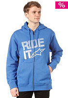 ALPINESTARS Ride It Tech Hooded Zip Sweat royal blue