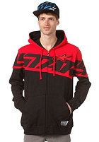ALPINESTARS Throne Hooded Fleece Jacket red